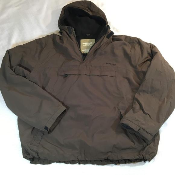 Half Zip Black Camo Windbreaker by Surplus Raw Coat Jacket Mens All Sizes
